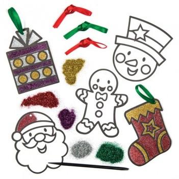 Liivakunst. Jõulukaunistused