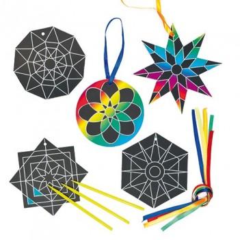 Kraapimiskunst. Kaunistused Mandala